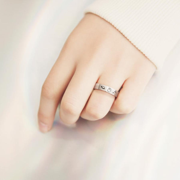BT21 x OST - Cooky Silver Ring