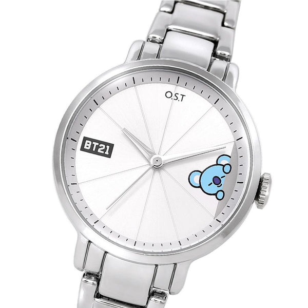 BT21 x OST - Koya Simple Metal Watch