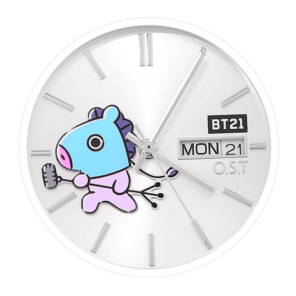 BT21 x OST - Mang Bezel Point Metal Watch