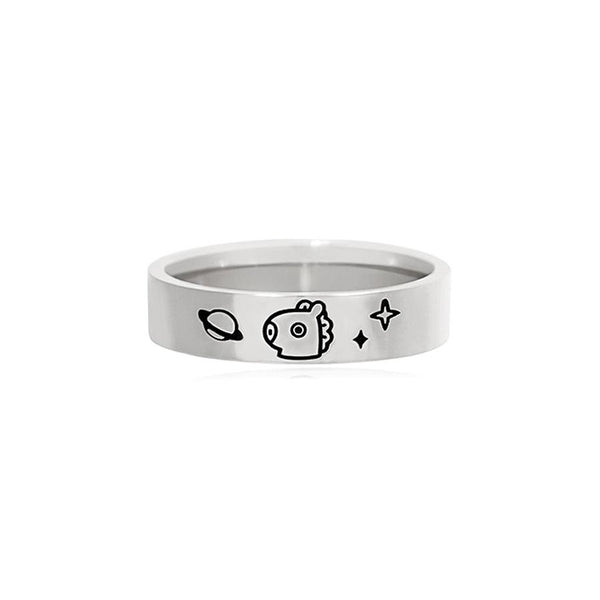 BT21 x OST - Mang Silver Ring
