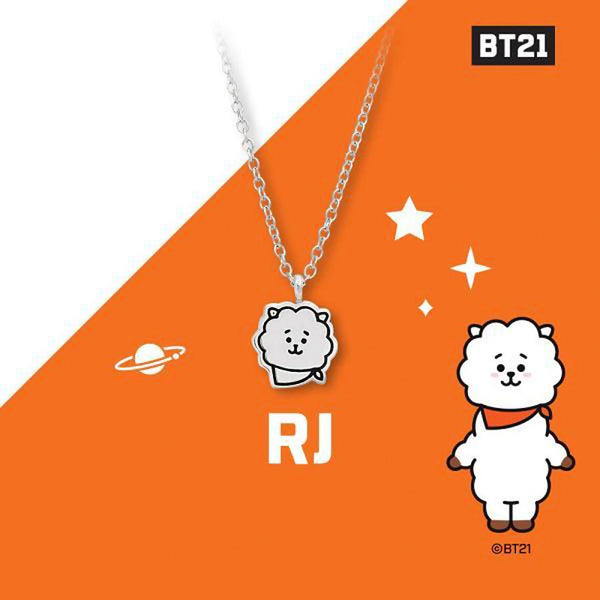 BT21 x OST - RJ Silver Necklace