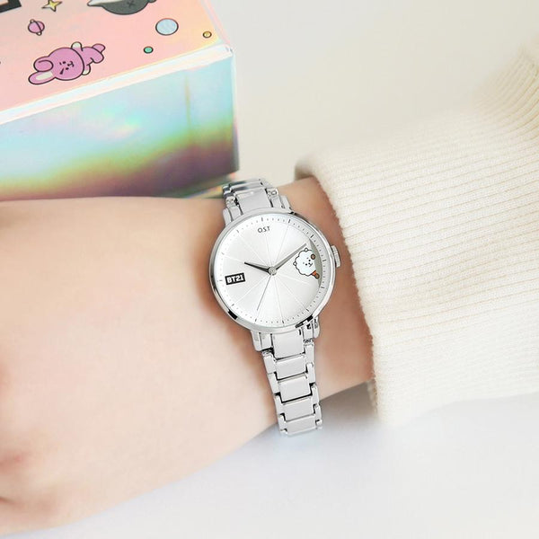 BT21 x OST - RJ Simple Metal Watch