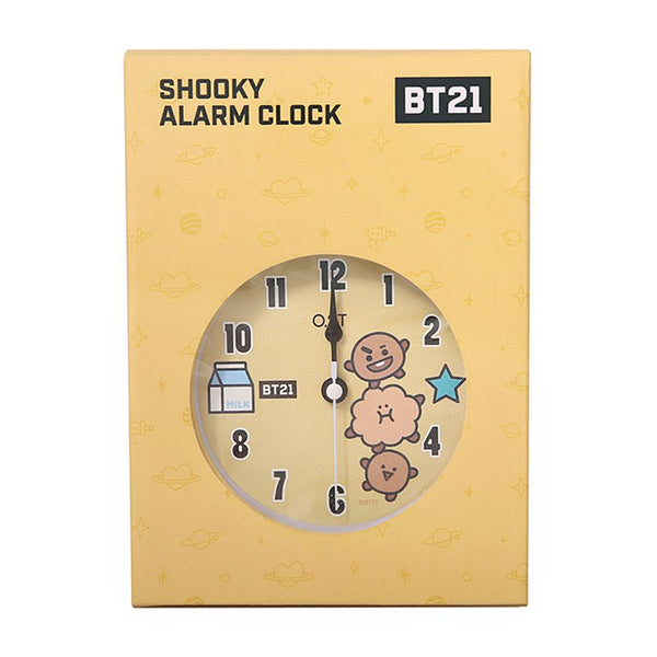BT21 x OST - Shooky Alarm Clock