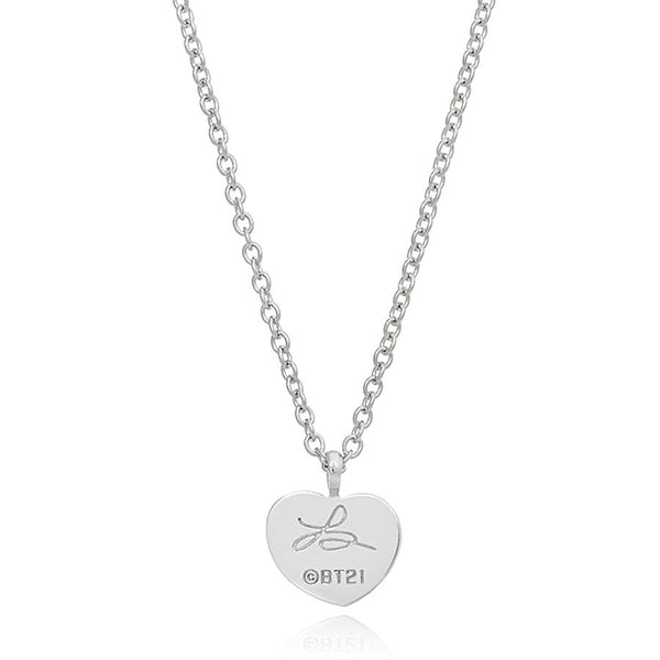 BT21 x OST - Tata Silver Necklace