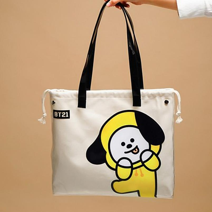 BT21 x Kumhong Fancy - PVC Tote Bag