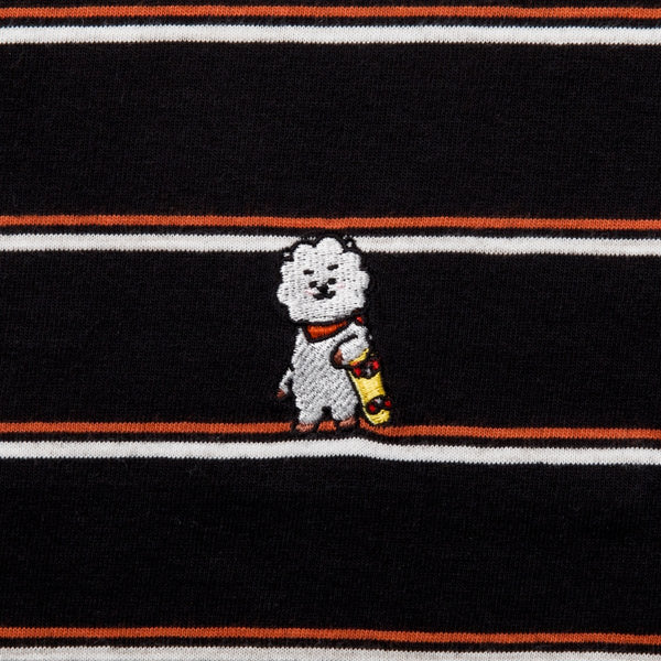 BT21 - RJ Basic Striped Short Sleeve T-Shirt