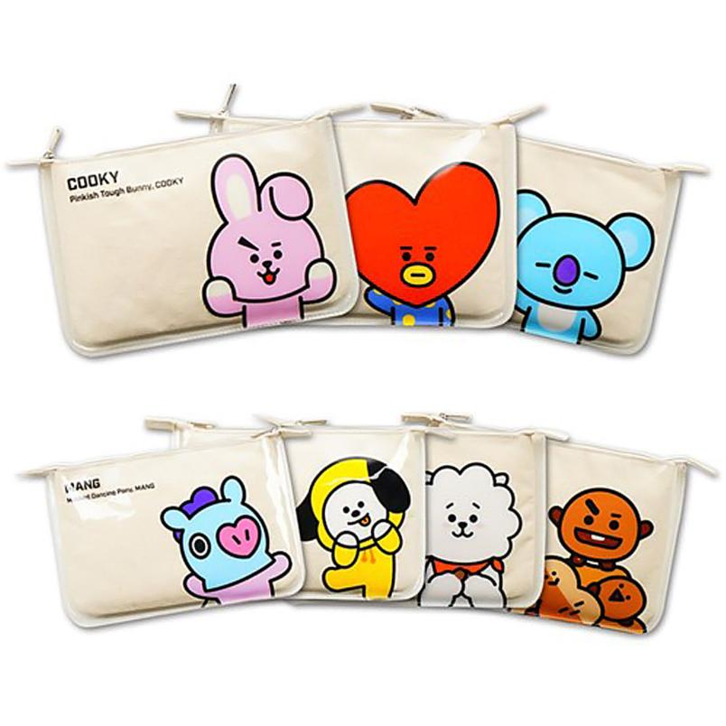 BT21 x Kumhong Fancy - Slim PVC Pouch