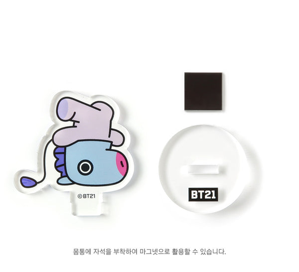 BT21 Acrylic Magnet Stand - MANG - Stationary, Accessories - Harumio