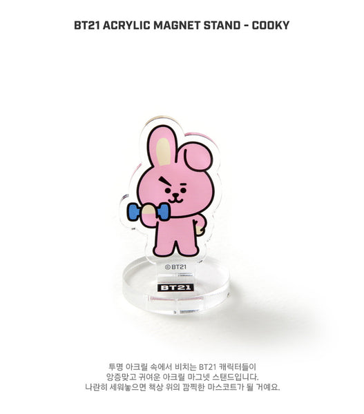 BT21 Acrylic Magnet Stand - COOKY - Stationary, Accessories - Harumio