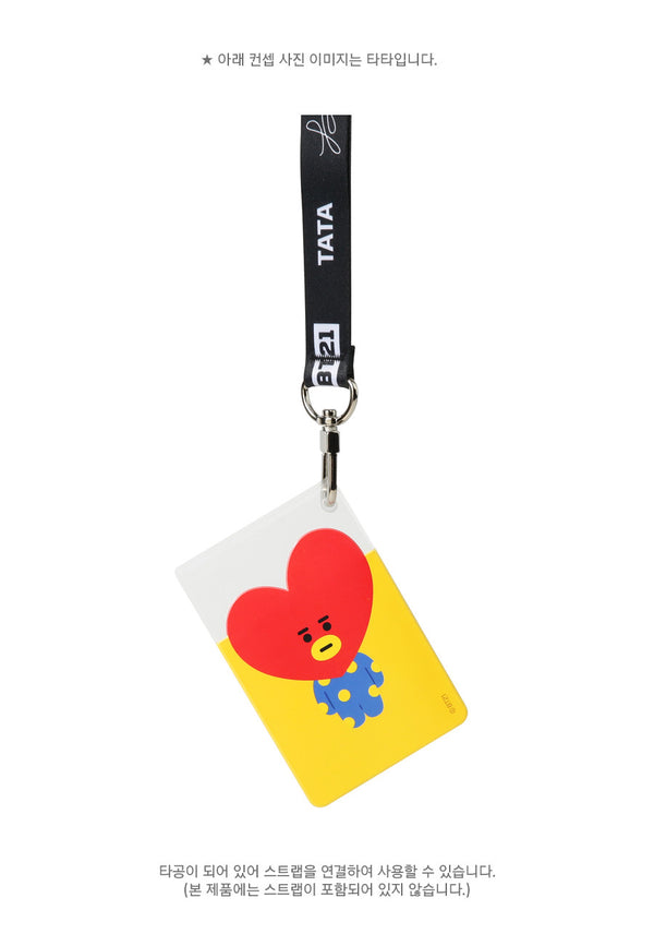 BT21 Clear Card Pocket - VAN - Stationary, Accessories - Harumio