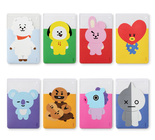 BT21 Clear Card Pocket - SHOOKY - Stationary, Accessories - Harumio