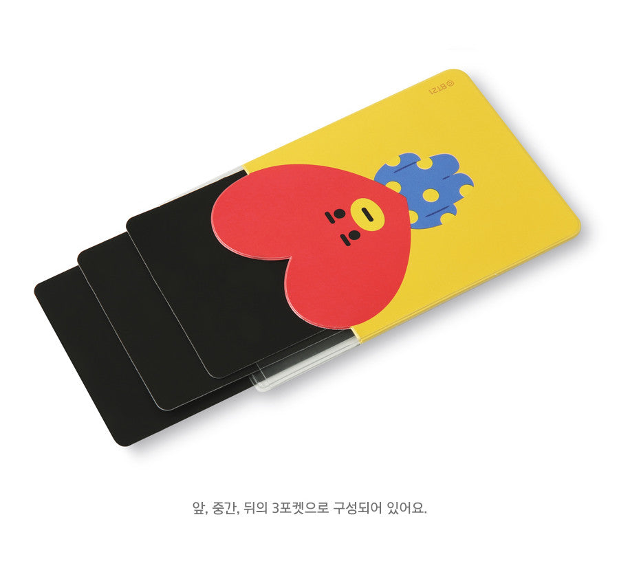 BT21 Clear Card Pocket - CHIMMY - Stationary, Accessories - Harumio