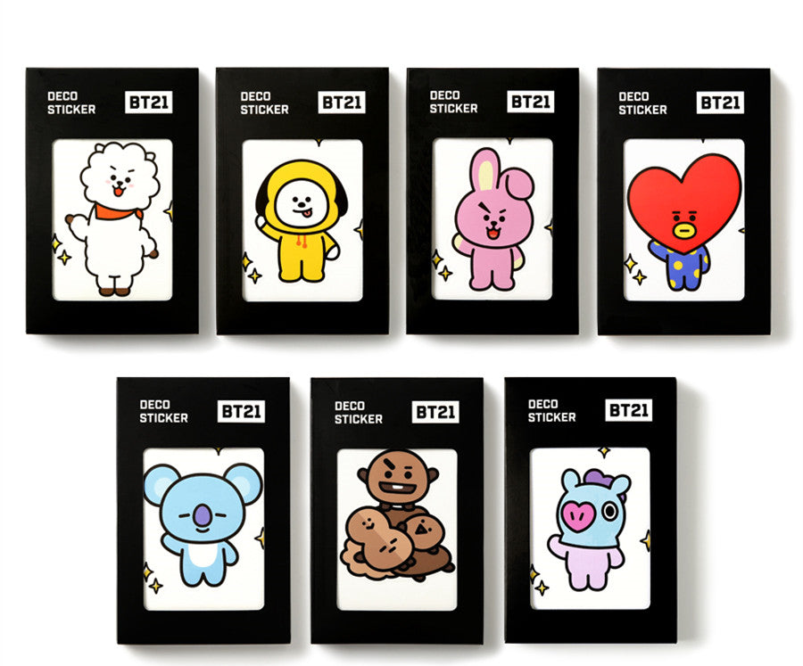BT21 Deco Sticker - RJ - Stationary, Accessories - Harumio
