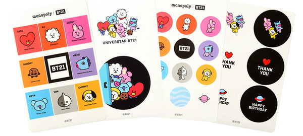 BT21 Deco Sticker - CHIMMY - Stationary, Accessories - Harumio