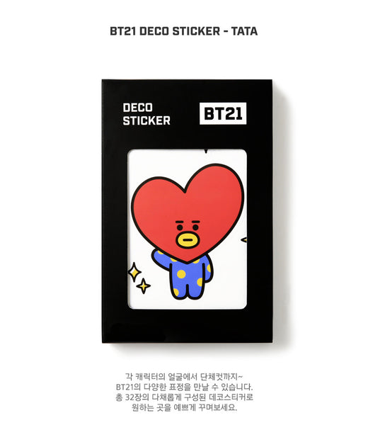 BT21 Deco Sticker - TATA - Stationary, Accessories - Harumio