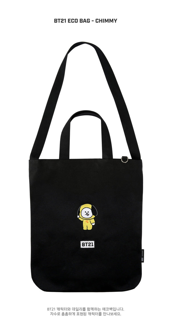 BT21 Eco Bag - CHIMMY - Accessories, Bag - Harumio