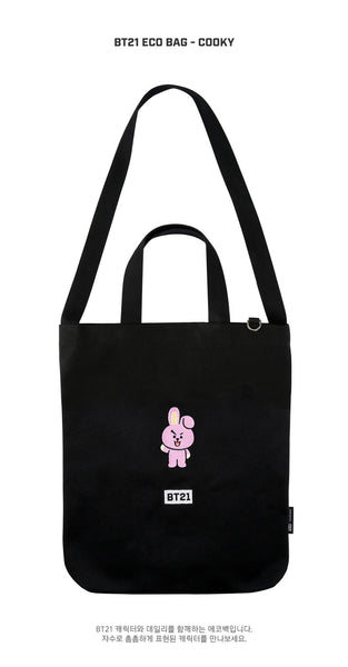 BT21 Eco Bag - COOKY - Accessories, Bag - Harumio