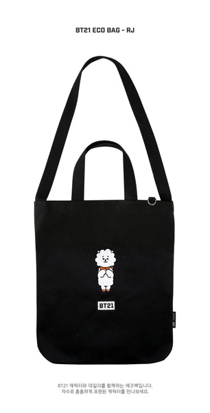 BT21 Eco Bag - RJ - Accessories, Bag - Harumio