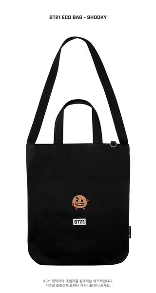 BT21 Eco Bag - SHOOKY - Accessories, Bag - Harumio