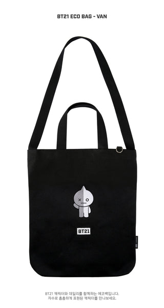 BT21 Eco Bag - VAN - Stationary, Accessories - Harumio