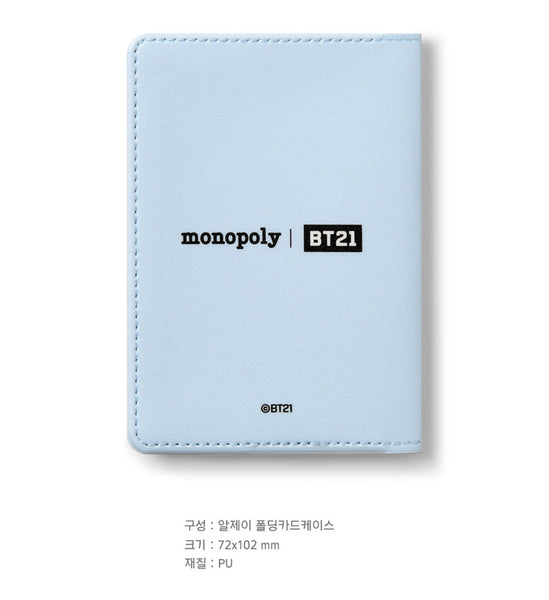 BT21 Folding Card Case - RJ - Stationary, Accessories - Harumio