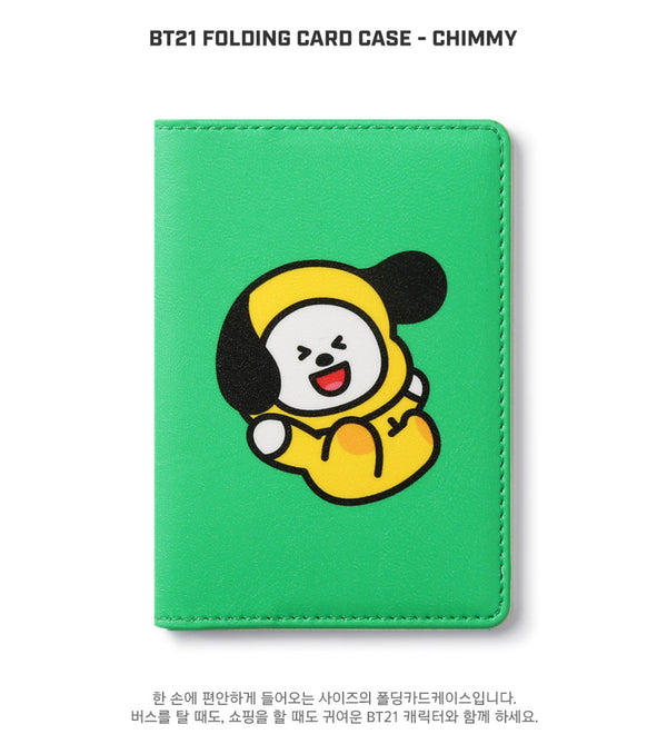 BT21 Folding Card Case - CHIMMY - Stationary, Accessories - Harumio