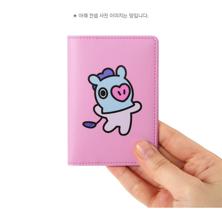 BT21 Folding Card Case - TATA - Stationary, Accessories - Harumio