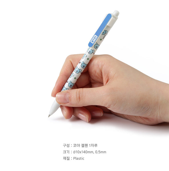 BT21 Gel Pen - KOYA - Stationary, Accessories - Harumio