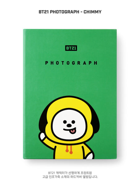 BT21 Photograph - CHIMMY - Stationary, Accessories - Harumio