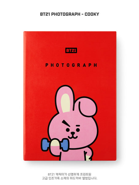 BT21 Photograph - COOKY - Stationary, Accessories - Harumio