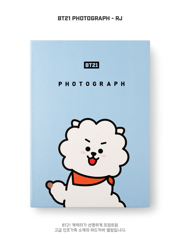 BT21 Photograph - RJ - Stationary, Accessories - Harumio
