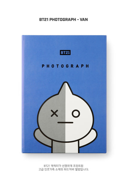 BT21 Photograph - VAN - Stationary, Accessories - Harumio
