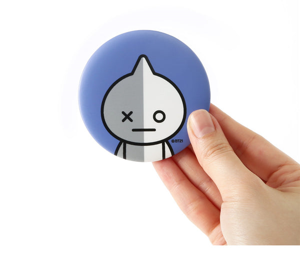 BT21 Pocket Mirror - VAN - Stationary, Accessories - Harumio