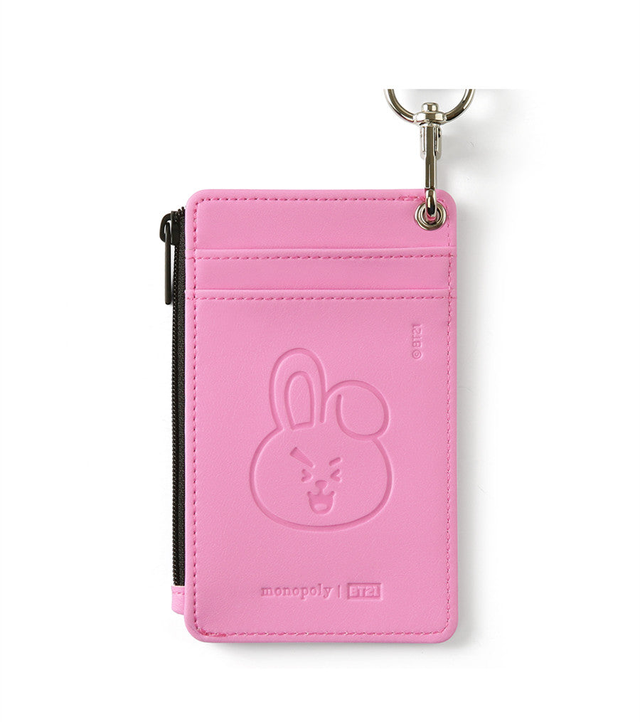 BT21 Strap Card Holder - COOKY - Stationary, Accessories - Harumio