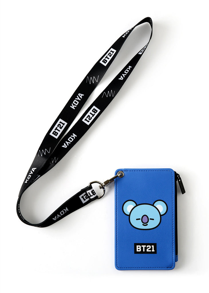 BT21 Strap Card Holder - KOYA - Stationary, Accessories - Harumio