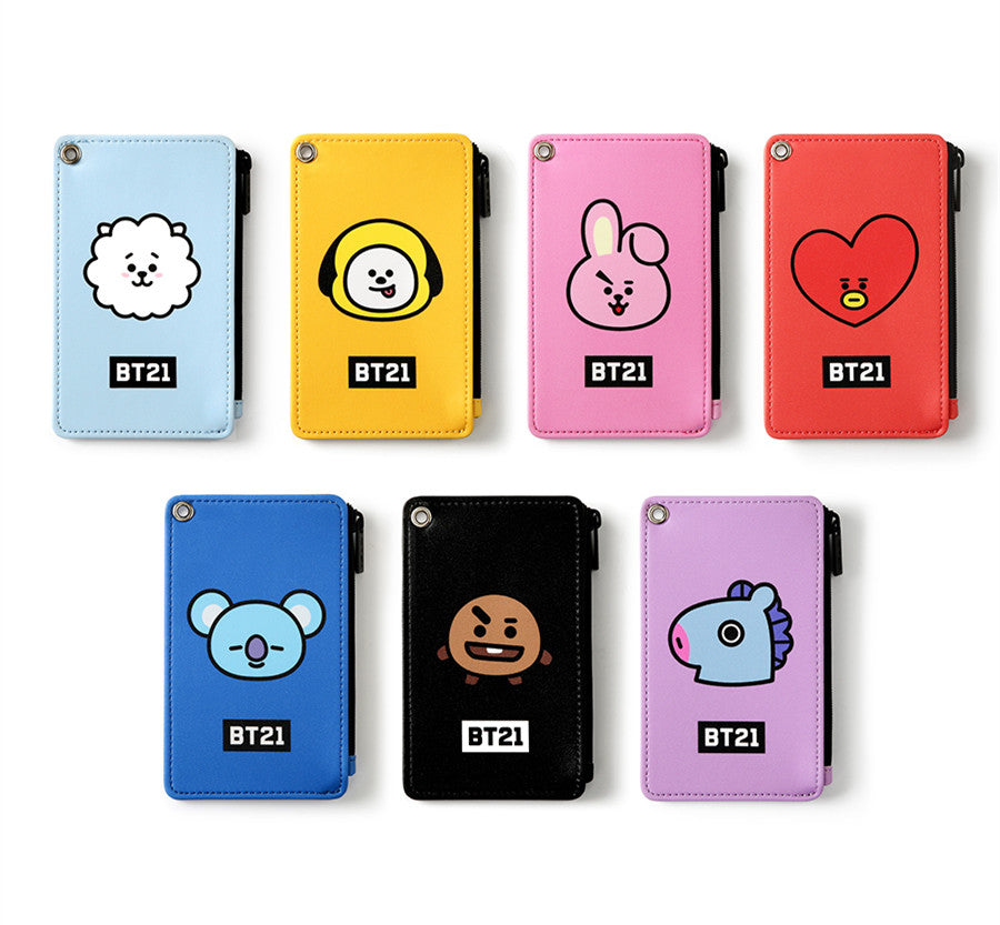 BT21 Strap Card Holder - RJ - Stationary, Accessories - Harumio