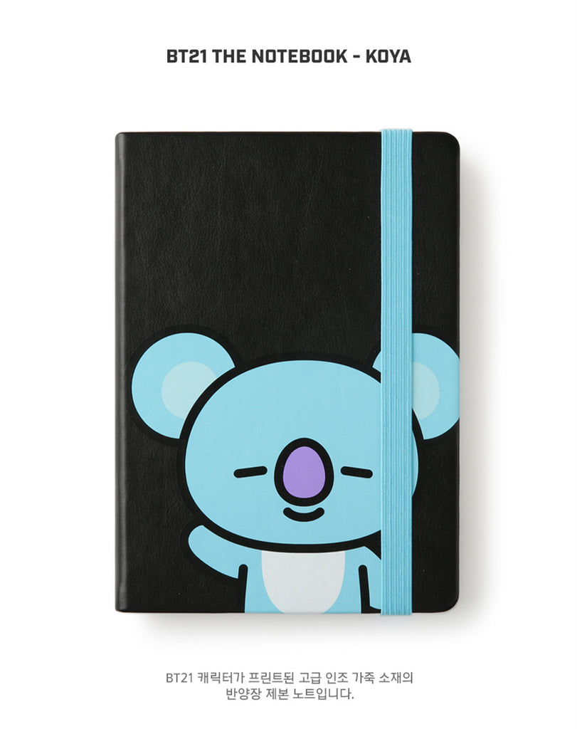 BT21 The Notebook - KOYA - Stationary, Accessories - Harumio