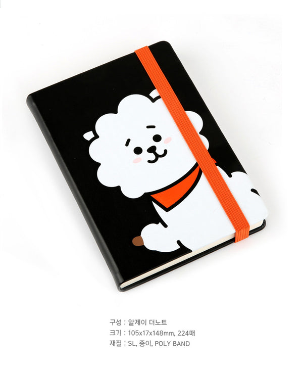 BT21 The Notebook - RJ - Stationary, Accessories - Harumio