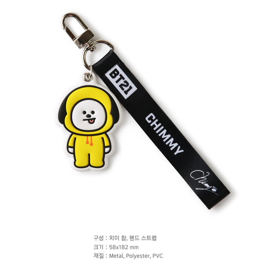 BT21 Travel Wrist Strap - CHIMMY - Stationary, Accessories - Harumio