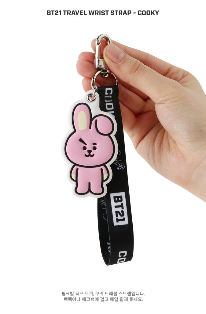 BT21 Travel Wrist Strap - COOKY - Stationary, Accessories - Harumio