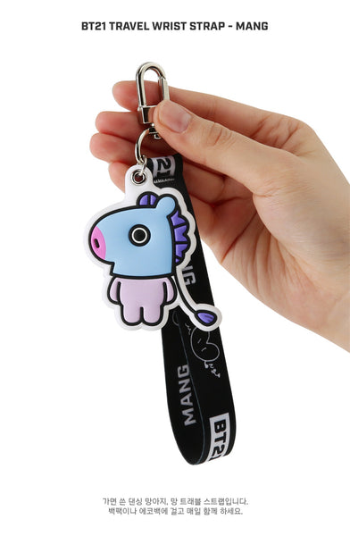 BT21 Travel Wrist Strap - MANG - Stationary, Accessories - Harumio