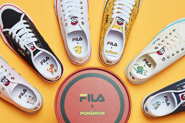 Fila X Pokemon - Squirtle - Sneakers - Harumio