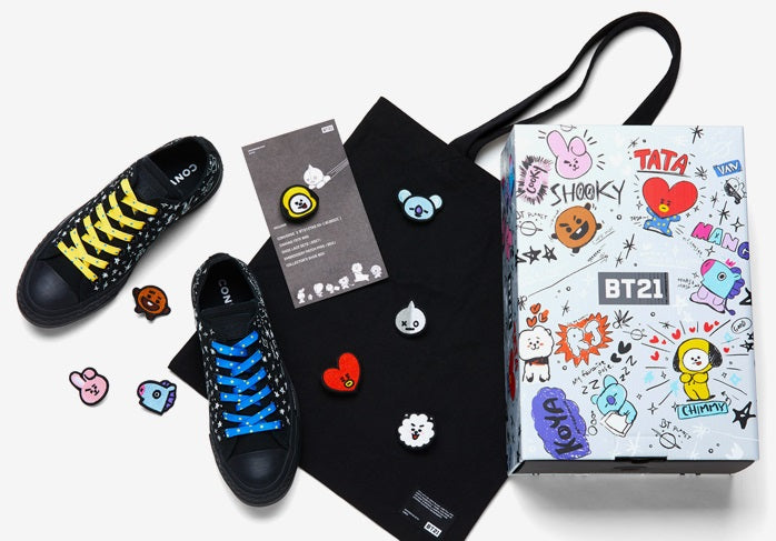 Converse X BT21 - Low Top - Black