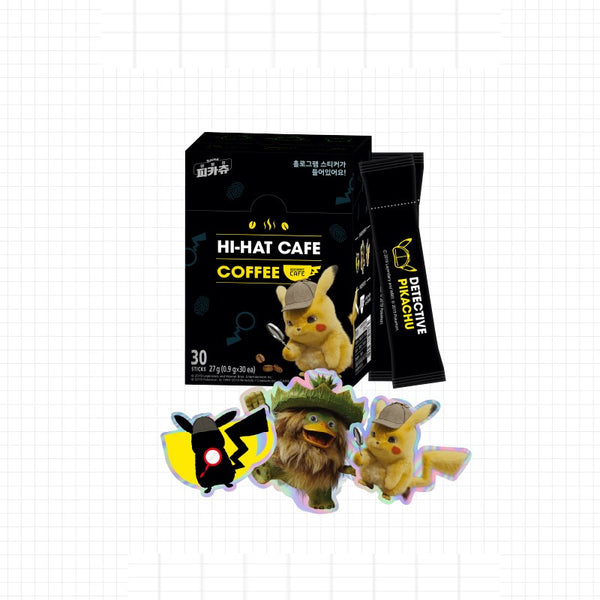 Pokemon - Official Merch - Detective Pikachu Hi-Hat Cafe Coffee