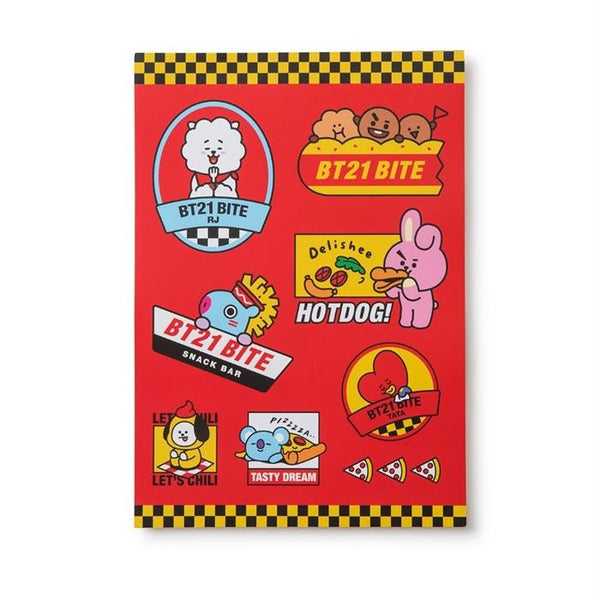 BT21 - Official Merch - BITE - Clipboard Memo Pad Set