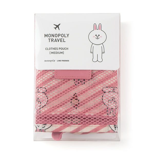 Line Friends - Cony Clothing Pouch (M) - Bag - Harumio