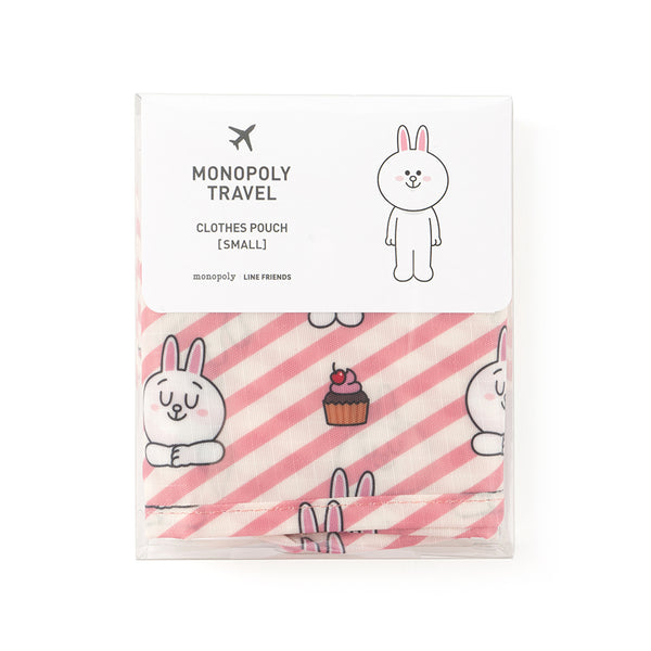 Line Friends - Cony Clothing Pouch (S) - Bag - Harumio