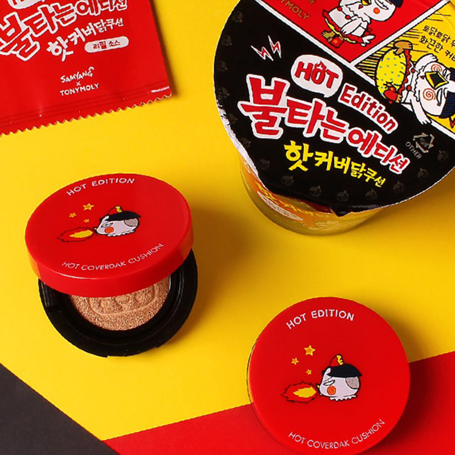 Tony Moly x Samyang - Hot Edition - Hot Cover Cushion