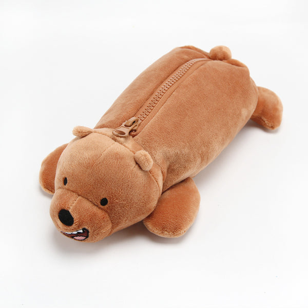 We Bare Bears - Sleeping Pencil Case - Grizzly