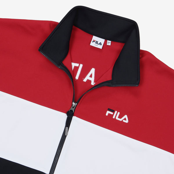 FILA - New Heritage Color Block Track Top
